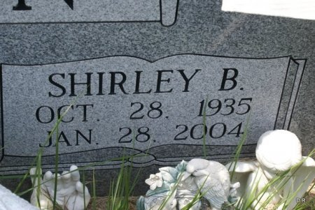 GOWEN, SHIRLEY (CLOSE UP) - Coffee County, Tennessee | SHIRLEY (CLOSE UP) GOWEN - Tennessee Gravestone Photos