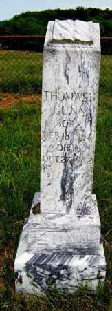 GUNN, THOMAS H. - Coffee County, Tennessee | THOMAS H. GUNN - Tennessee Gravestone Photos