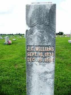 WILLIAMS, JOHN C. - Coffee County, Tennessee | JOHN C. WILLIAMS - Tennessee Gravestone Photos