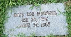 WILLIAMS, MARY LOU - Coffee County, Tennessee | MARY LOU WILLIAMS - Tennessee Gravestone Photos