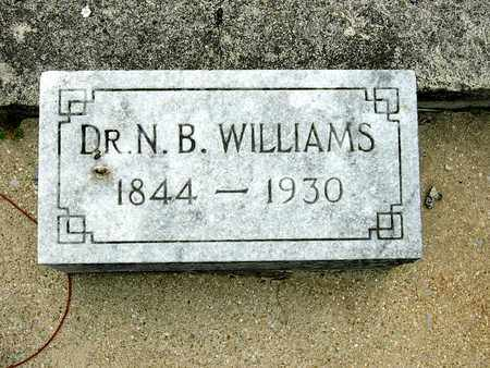 WILLIAMS, N. B. (DR.) - Coffee County, Tennessee | N. B. (DR.) WILLIAMS - Tennessee Gravestone Photos