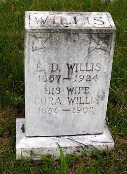 SHEID WILLIS, CORA - Coffee County, Tennessee | CORA SHEID WILLIS - Tennessee Gravestone Photos