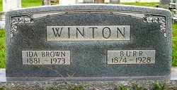 "WINTON, BURROW PATY ""BURR"" - Coffee County, Tennessee | BURROW PATY ""BURR"" WINTON - Tennessee Gravestone Photos"