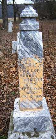 WINTON, BETTIE - Coffee County, Tennessee | BETTIE WINTON - Tennessee Gravestone Photos