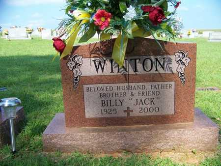 """WINTON, BILLY """"JACK"""" - Coffee County, Tennessee 