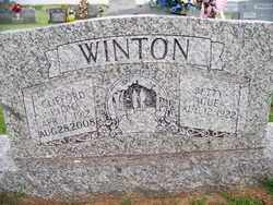 WINTON, CLIFFORD LYONA - Coffee County, Tennessee   CLIFFORD LYONA WINTON - Tennessee Gravestone Photos