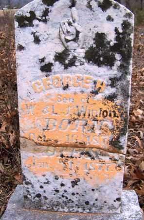 WINTON, GEORGE HOUSTON - Coffee County, Tennessee   GEORGE HOUSTON WINTON - Tennessee Gravestone Photos