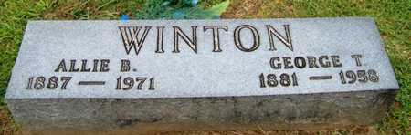 WINTON, GEORGE T. - Coffee County, Tennessee | GEORGE T. WINTON - Tennessee Gravestone Photos