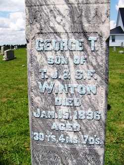 WINTON, GEORGE THEODORE - Coffee County, Tennessee | GEORGE THEODORE WINTON - Tennessee Gravestone Photos