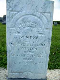 WINTON, GEORGE W. - Coffee County, Tennessee | GEORGE W. WINTON - Tennessee Gravestone Photos