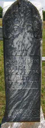 WINTON, JOSEPHUS S. - Coffee County, Tennessee | JOSEPHUS S. WINTON - Tennessee Gravestone Photos