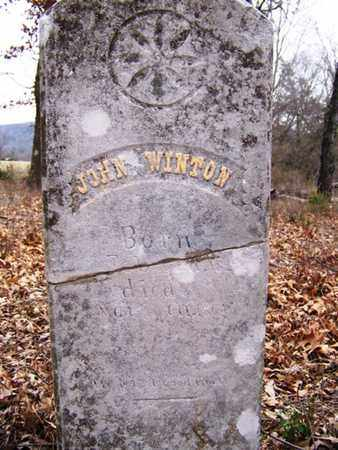WINTON, JOHN - Coffee County, Tennessee   JOHN WINTON - Tennessee Gravestone Photos