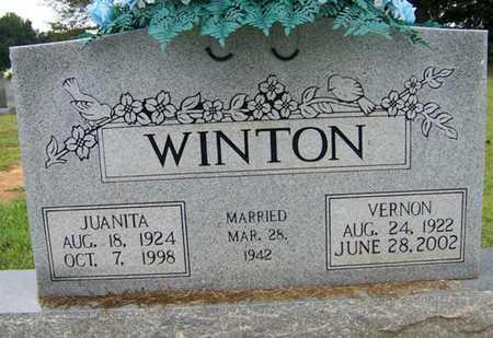 WINTON, JUANITA - Coffee County, Tennessee | JUANITA WINTON - Tennessee Gravestone Photos