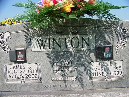 WINTON, DOLLIE E. - Coffee County, Tennessee | DOLLIE E. WINTON - Tennessee Gravestone Photos