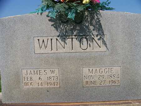 WINTON, MARY MAGDALINE - Coffee County, Tennessee | MARY MAGDALINE WINTON - Tennessee Gravestone Photos