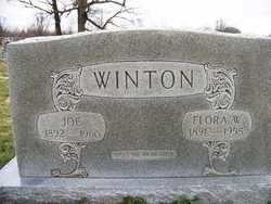 WINTON, FLORA W. - Coffee County, Tennessee | FLORA W. WINTON - Tennessee Gravestone Photos