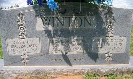 WINTON, LOURAN DILLON - Coffee County, Tennessee   LOURAN DILLON WINTON - Tennessee Gravestone Photos