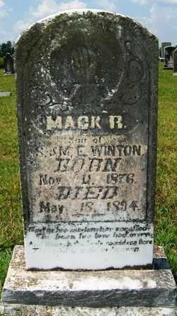 WINTON, MACK RAMSEY - Coffee County, Tennessee | MACK RAMSEY WINTON - Tennessee Gravestone Photos