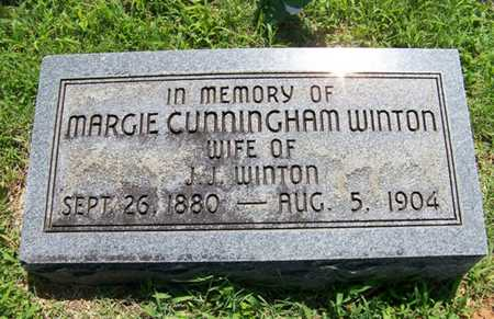 WINTON, MARGIE - Coffee County, Tennessee | MARGIE WINTON - Tennessee Gravestone Photos