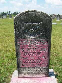 WINTON, MARY ELIZABETH - Coffee County, Tennessee | MARY ELIZABETH WINTON - Tennessee Gravestone Photos