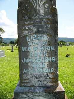 "WINTON, MATILDA ELIZABETH ""LIZZIE"" - Coffee County, Tennessee | MATILDA ELIZABETH ""LIZZIE"" WINTON - Tennessee Gravestone Photos"