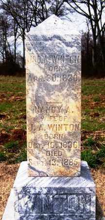 WINTON, NANCY A. - Coffee County, Tennessee   NANCY A. WINTON - Tennessee Gravestone Photos