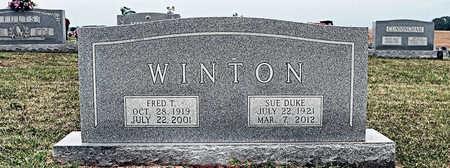 WINTON, NELLIE SUE - Coffee County, Tennessee | NELLIE SUE WINTON - Tennessee Gravestone Photos