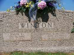 WINTON, BESSIE T. - Coffee County, Tennessee | BESSIE T. WINTON - Tennessee Gravestone Photos
