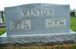 WINTON, RALPH EDWARD - Coffee County, Tennessee | RALPH EDWARD WINTON - Tennessee Gravestone Photos