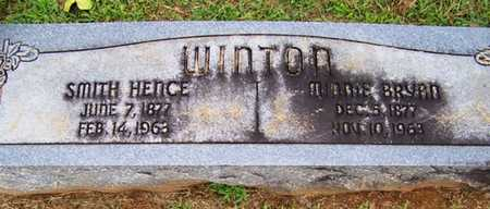 WINTON, MINNIE - Coffee County, Tennessee | MINNIE WINTON - Tennessee Gravestone Photos