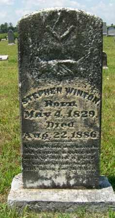 WINTON, STEPHEN - Coffee County, Tennessee | STEPHEN WINTON - Tennessee Gravestone Photos