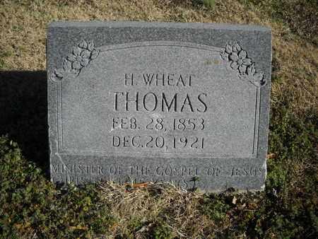 THOMAS, H. WHEAT - Crockett County, Tennessee | H. WHEAT THOMAS - Tennessee Gravestone Photos