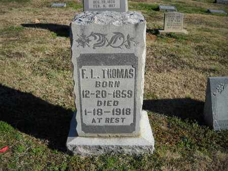 THOMAS, LAURA - Crockett County, Tennessee | LAURA THOMAS - Tennessee Gravestone Photos