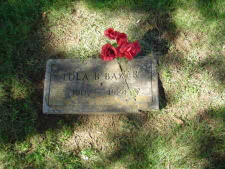 BAKER, LOLA B. - Cumberland County, Tennessee | LOLA B. BAKER - Tennessee Gravestone Photos