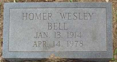 BELL, HOMER WESLEY - Cumberland County, Tennessee | HOMER WESLEY BELL - Tennessee Gravestone Photos