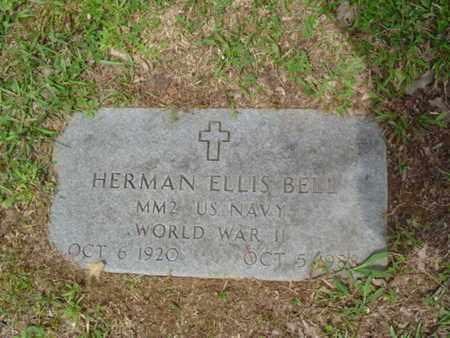 BELL  (VETERAN WWII), HERMAN ELLIS - Cumberland County, Tennessee | HERMAN ELLIS BELL  (VETERAN WWII) - Tennessee Gravestone Photos