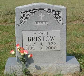 BRISTOW, H. PAUL - Cumberland County, Tennessee | H. PAUL BRISTOW - Tennessee Gravestone Photos