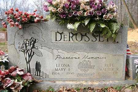DEROSSETT, WALTER RUFE - Cumberland County, Tennessee | WALTER RUFE DEROSSETT - Tennessee Gravestone Photos
