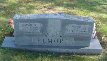 ELMORE, MINNIE RUTH - Cumberland County, Tennessee | MINNIE RUTH ELMORE - Tennessee Gravestone Photos