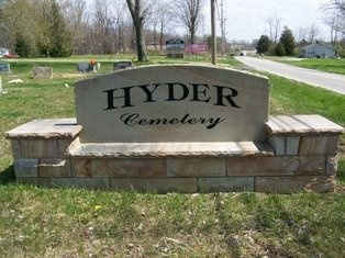 *HYDER CEMETERY SIGN,   - Cumberland County, Tennessee |   *HYDER CEMETERY SIGN - Tennessee Gravestone Photos