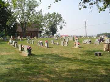 *LINARY CEMETERY OVERVIEW,  - Cumberland County, Tennessee |  *LINARY CEMETERY OVERVIEW - Tennessee Gravestone Photos
