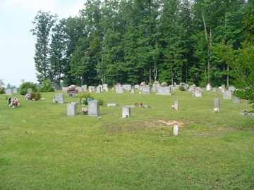 *MOUNT ZION OVERVIEW,  - Cumberland County, Tennessee |  *MOUNT ZION OVERVIEW - Tennessee Gravestone Photos