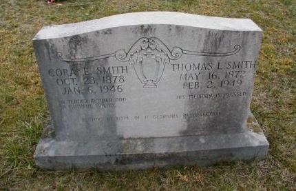 SMITH, CORA ELLEN - Cumberland County, Tennessee | CORA ELLEN SMITH - Tennessee Gravestone Photos