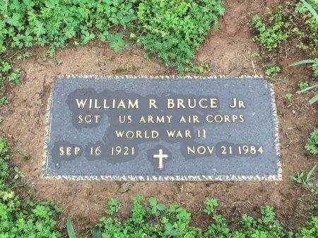 BRUCE, JR. (VETERAN WWII), WILLIAM R. - Davidson County, Tennessee | WILLIAM R. BRUCE, JR. (VETERAN WWII) - Tennessee Gravestone Photos