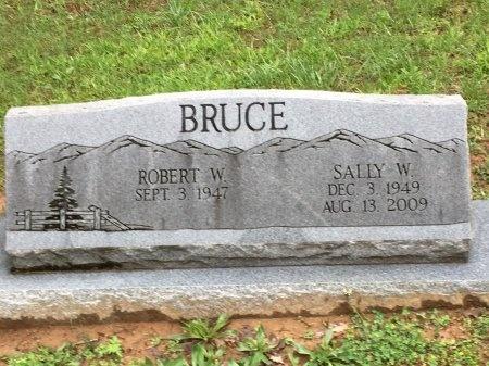 BRUCE, SALLY W. - Davidson County, Tennessee | SALLY W. BRUCE - Tennessee Gravestone Photos