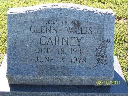 CARNEY, GLENN WILLIS - Davidson County, Tennessee | GLENN WILLIS CARNEY - Tennessee Gravestone Photos