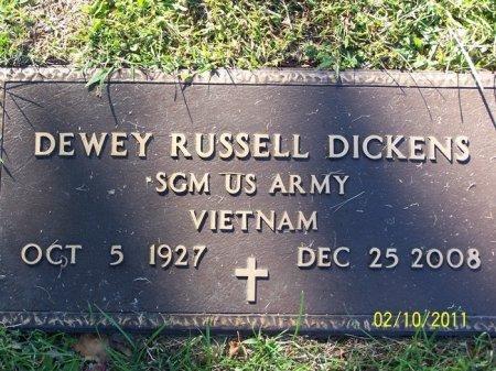 DICKENS (VETERAN VIET), DEWEY RUSSELL - Davidson County, Tennessee | DEWEY RUSSELL DICKENS (VETERAN VIET) - Tennessee Gravestone Photos