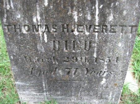 EVERETT, THOMAS HARDEMAN - Davidson County, Tennessee | THOMAS HARDEMAN EVERETT - Tennessee Gravestone Photos