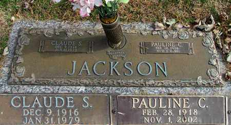 JACKSON, CLAUDE S. - Davidson County, Tennessee | CLAUDE S. JACKSON - Tennessee Gravestone Photos