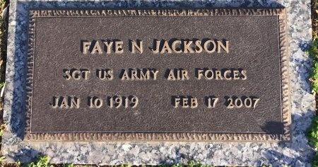 JACKSON, FAYE LOUISE - Davidson County, Tennessee | FAYE LOUISE JACKSON - Tennessee Gravestone Photos